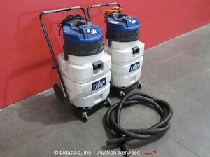 Lot-of-2-Windsor-T720TP-Titan-Wet-Dry-Shop-Vacuum-Tip-Dump-Tip-Dump-20-Gallon