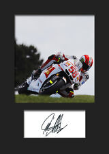MARCO SIMONCELLI #2 Signed Photo A5 Mounted Print - FREE DELIVERY