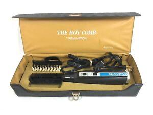 Remington The Hot Comb Stylish Brush Vtg Electronic Beauty