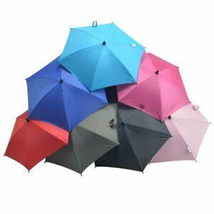 Baby Sun Umbrella Parasol Pram Pushchair Canopy Waterproof Protect Sun