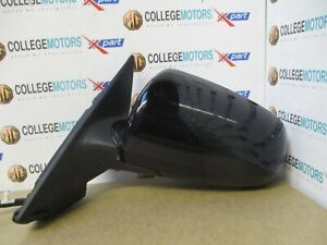 AUDI-A3-MK2-8P-04-08-N-S-PASSENGERS-SIDE-ELECTRIC-WING-MIRROR-IN-BLACK-039-LY9B-039