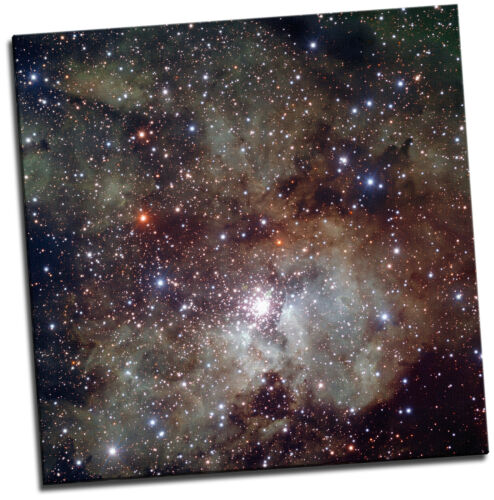 Starburst NGC3603 Giclee Canvas Space Picture Art