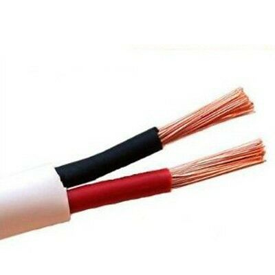 18//2 Awg SPEAKER WIRE AUDIO CABLE IN-WALL CL3 CMR RATED 250 FT Plenum