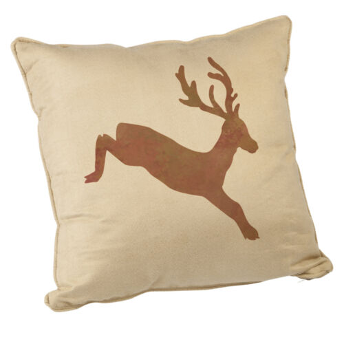 Tile or Wall Decor Stencil Reusable Craft CraftStar Leaping Stag Stencil