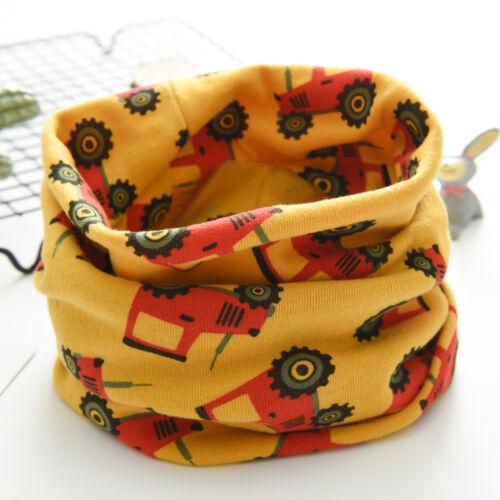 Nouveau Automne Hiver Garçons Filles Bébé Cartoon écharpe coton O Ring cou Casual Scarve
