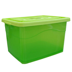 Kunststoffbehälter mit deckel