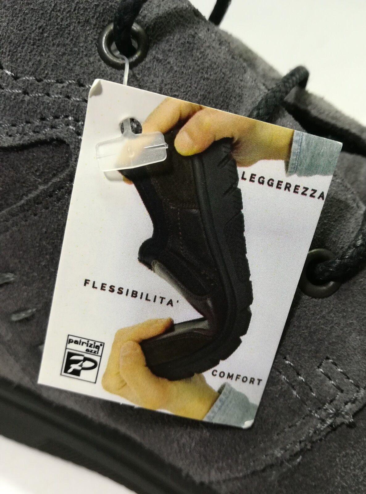 Schuhe UOMO VERA PELLE SCAMOSCIATA GRIGIO PLANTARE ESTRAIBILE LINEA CONFORT CONFORT LINEA - 91 9c1065