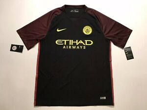 527c70ef Image is loading NWT-NIKE-Manchester-City-2016-Away-Jersey-Men-