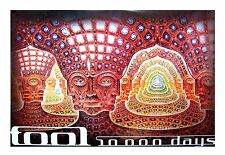 TOOL NET OF BEING 10,000 DAYS ALEX GREY JUMBO POSTER 40X60 NEW SEALED RARE MUSIC