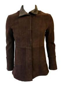 En Doux Up Woodland Real Véritable Ladies Leathers Veste 10 Cuir Nouveau Zip Coat 12 qqzX0