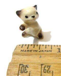 Hagen Renaker Boxing Kitten Miniature Porcelain Figurine Collector Vintage 1950s