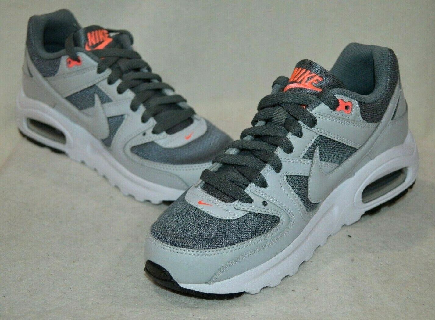 Nike Gray Air Max Command Flex Gs Women's Shoes (trainers) In Grey
