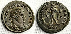 Münzen 3,6 Gr. Constantine I Follis Xf Ebc
