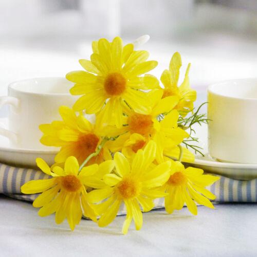 5 Heads Peony Hydrangeas Silk Flower White Wedding Decor Bridesmaid Bouquet BH