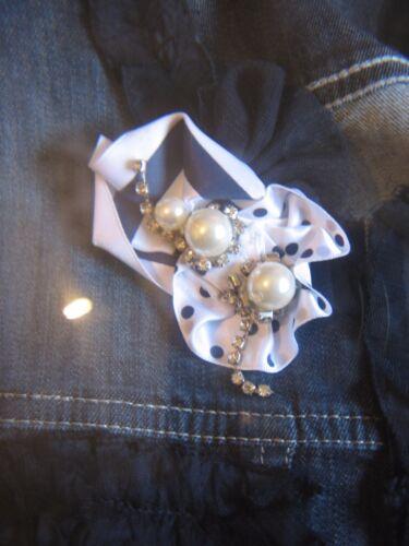 12 jean en bouton Une chemise jolie veste Grant fermeture taille Miss fxw4p8w