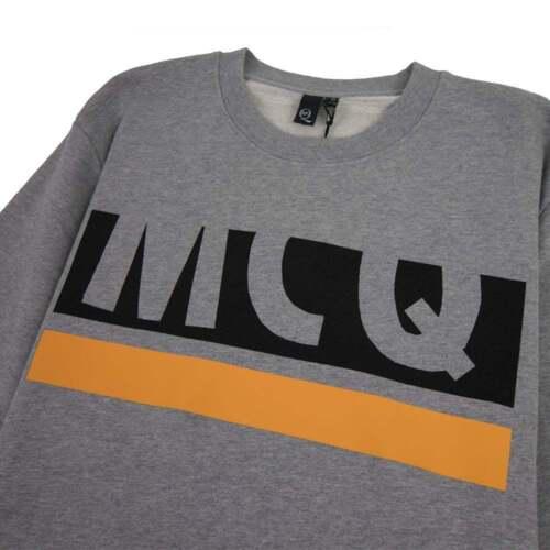 Mcq Mcqueen halflogo Alexander grijs sweatshirt 804xBwq