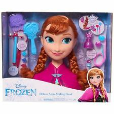NEW Disney Styling Frozen 2 Anna Styling Head