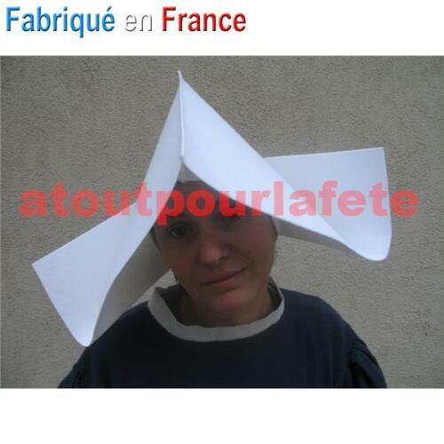 Cappello,Copricapo Cornet,Bonne Sorella,Religioso,Suora,Accessorio,Carnevale,