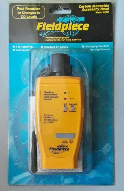 Black//Yellow for sale online Fieldpiece SCM4 Carbon Monoxide Detector