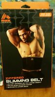 Rbx Zippered Slimming Belt - Adjust Zippers As You Lose Weight Men Or Wome