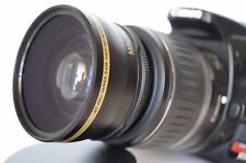 Wide Angle Macro Lens for Canon Eos Digital Rebel & T2i sl1 XTi w/18-55 IS III