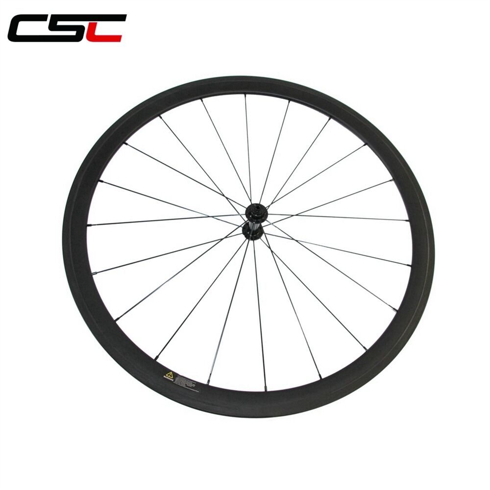 CSC 700C Ultra Light carbon wheels 38mm clincher front carbon bike road wheels