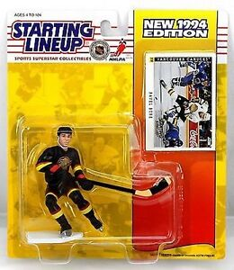Starting Lineup 1994 Kenner NHL CANUCKS Figure ~ PAVEL BURE NIP!!