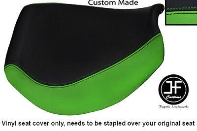 L GREY BLACK VINYL CUSTOM FOR TRIUMPH SPEED TRIPLE 955 i 01-05 FRONT SEAT COVER