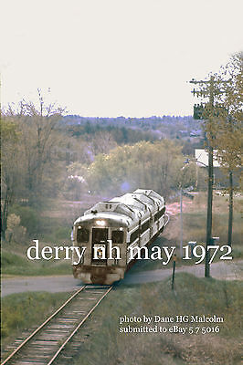 NH oct 1970 Boston /& Maine RR 4265   East Andover