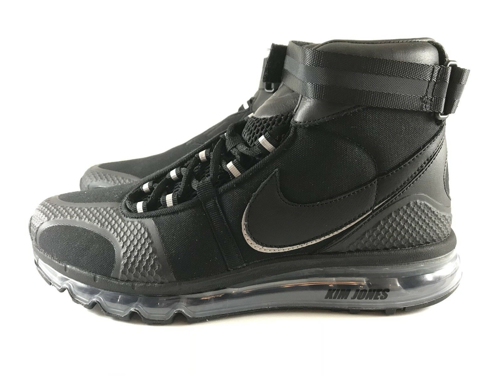 b5acdee29c NIKE AIR MAX HI KJ Kim Jones Black AO2313 Mens size 9 360 001  ntalgh7275-Athletic Shoes