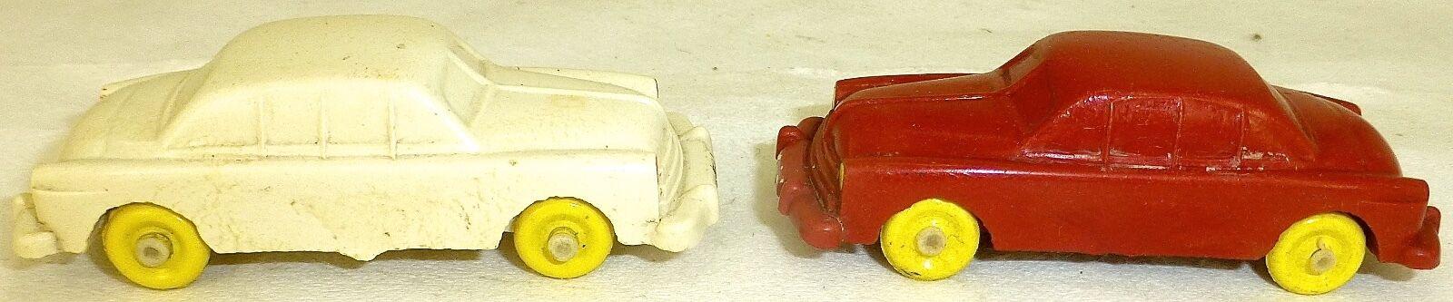 2 Limousinen red und white IGES 901 H0 1 87  å