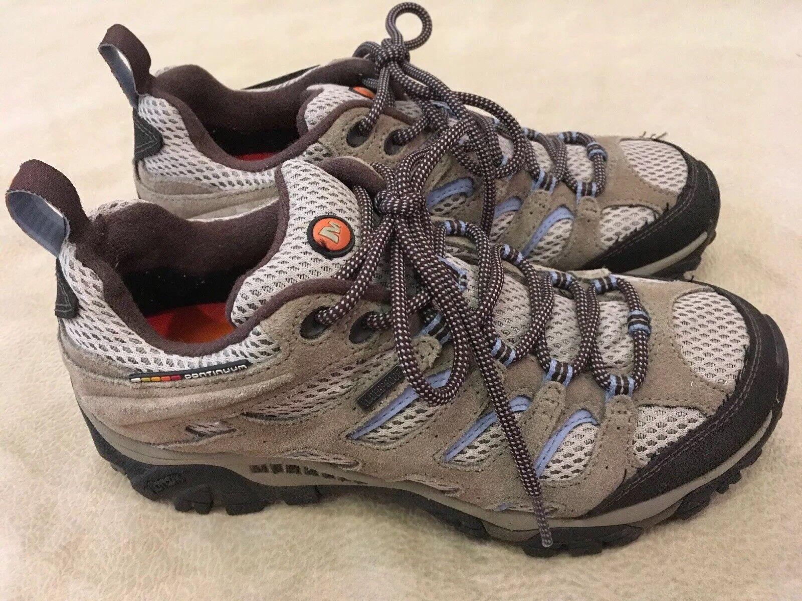 Merrell 8.5 Womens Trail shoes Sneakers Continuum Air Cushion Q Form Ortholite