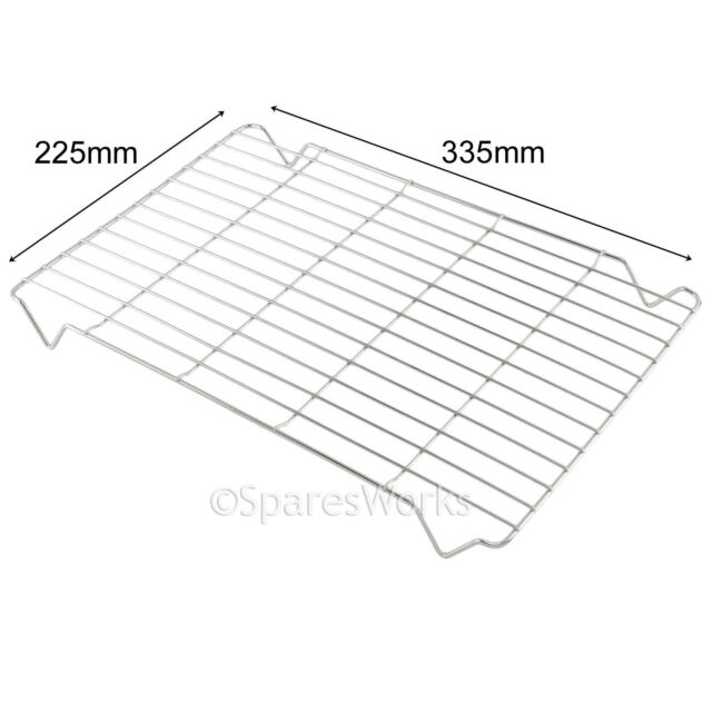 Find A Spare Grill Pan Grids Hotpoint Oven Cookers 344mm X 222mm For Indesit Hotpoint Oven Cookers 344mm X 222mm Pack of 2 Mesh Racks For Indesit