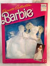 1987 Barbie Private Collection Fashions Wedding Dress #4507