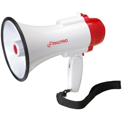 Bullhorn with Siren Pyle PMP30 Megaphone