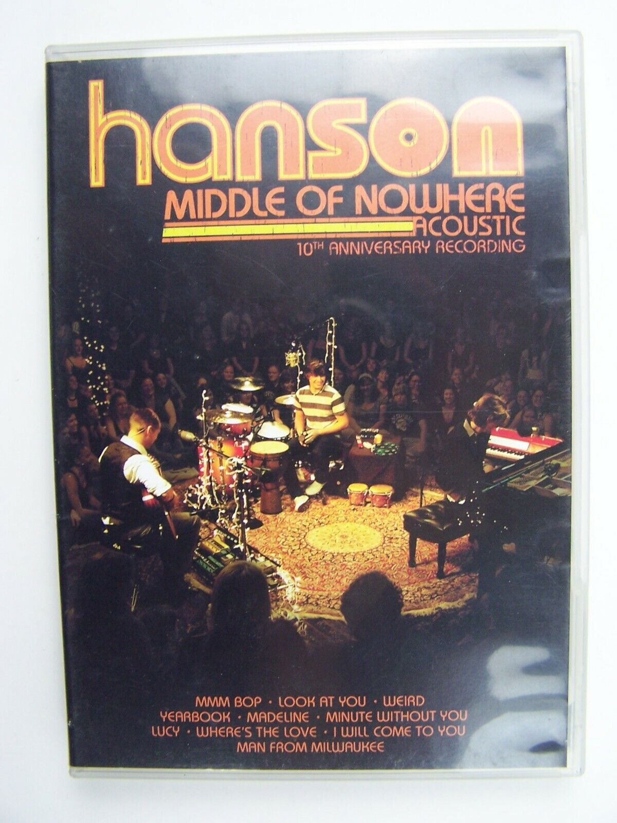 Hanson Middle of Nowhere Acoustic 10th Anniversary Reco