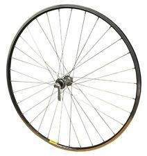700c FRONT Shimano Tiagra 32h Hub Road Cycle Bike Mavic Open Sport Black Wheel