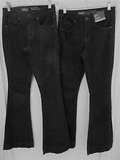 2 Pr Mossimo Denim Jeans Size 00 & 0 24 & 25 Length- High Rise, Flare Leg New