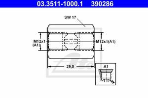Adapter Bremsleitung ATE 03.3511-1000.1