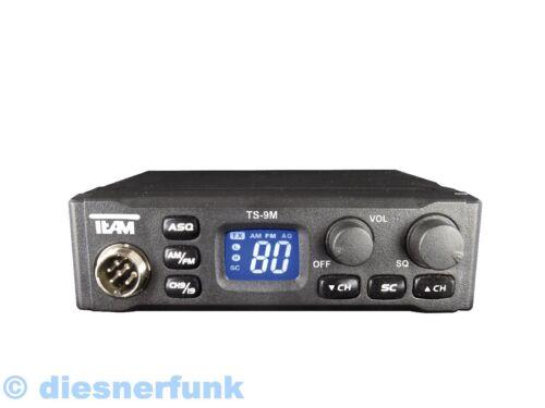 1 von 1 - TEAM TS-9M CB FUNK 4W AM passend für LKW ACTROS TGA TGX Axor MAN TOP B-Ware