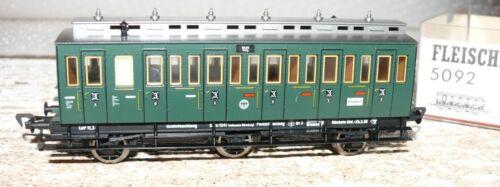 H22 Fleischmann  5092 Personenwagen Abteilwagen 3 Klasse DRG