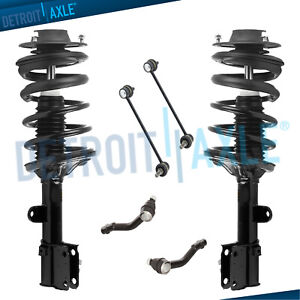 Rear Quick Coil Spring Strut Set Sway Bar Links Fits Kia Sportage Hyundai Tucson