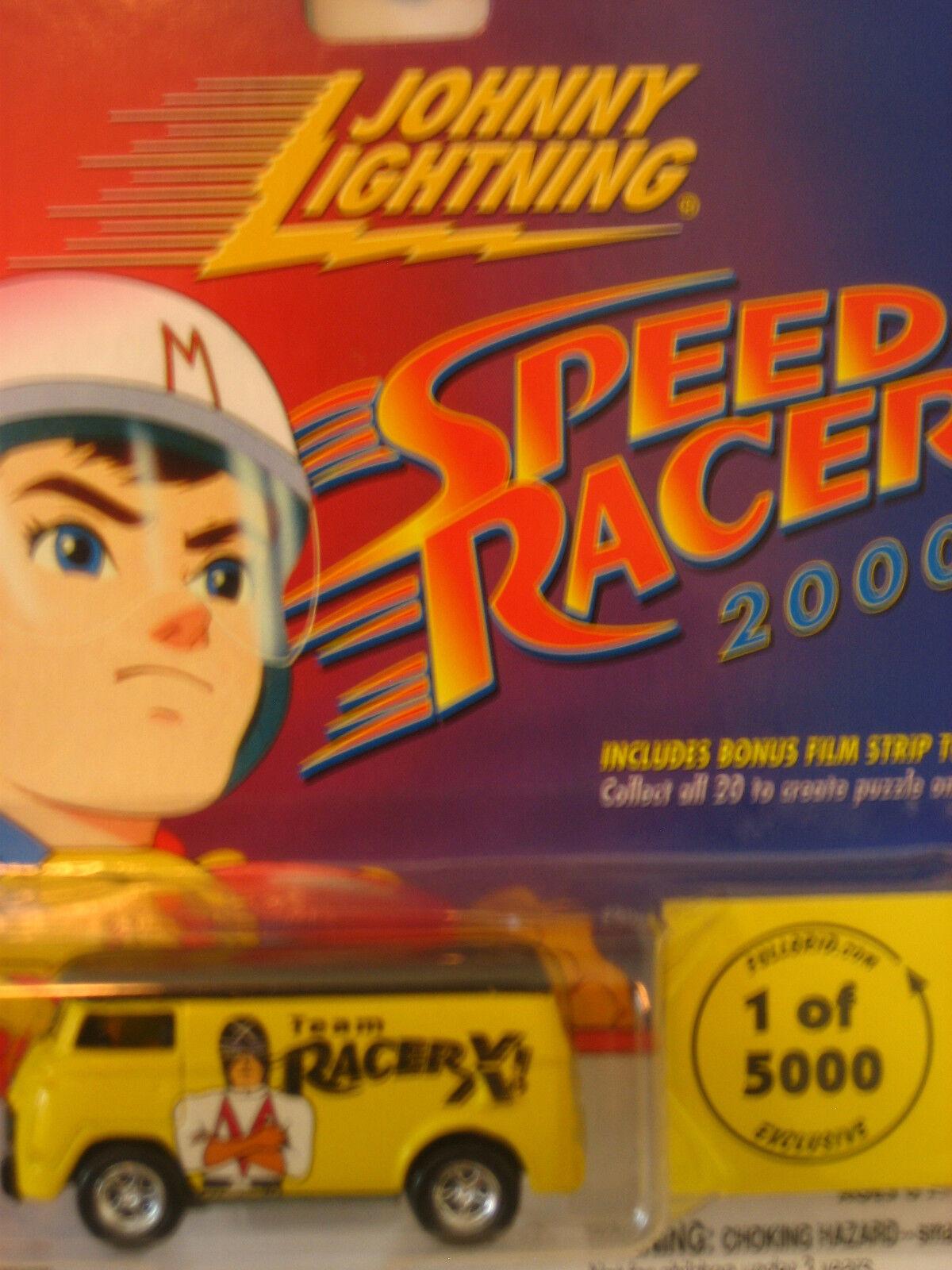 Johnny Lightning SPEED RACER 2000 RACER X Van