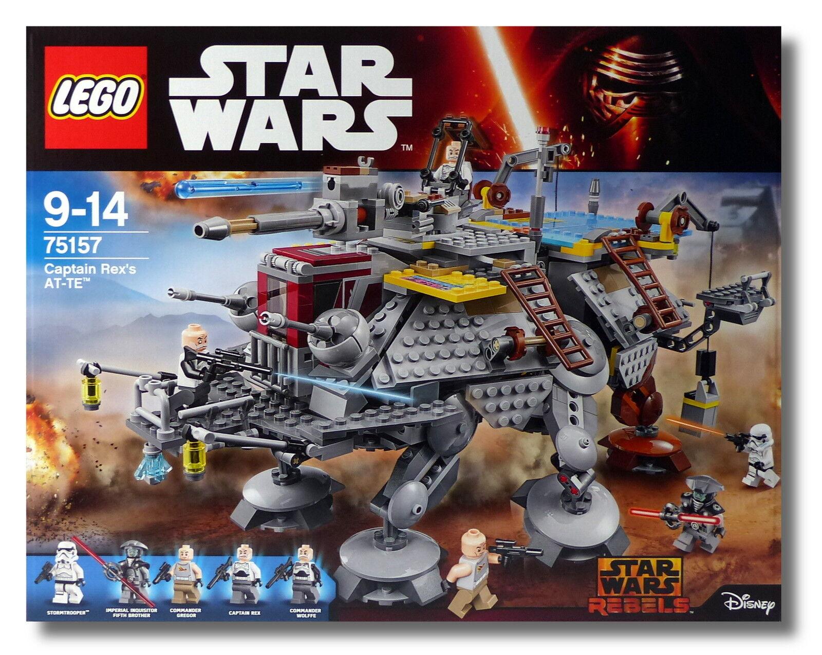 LEGO® Star Wars™ 75157 Captain Rex's AT-TE™ Commander Gregor Gregor Commander NEU/OVP 9691fb