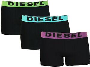 Mens-Diesel-Boxer-Shorts-3-Pack-Designer-Trunks-Briefs