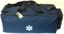 Needi Medical Emergency Paramedic Oxygen O2 Trauma Gear Carry Bag Navy Blue