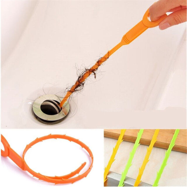 Unclog A Kitchen Sink: Drain Clog Remover Snake Tool Hair Hook Sink Unclog
