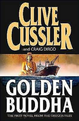 1 of 1 - The Golden Buddha. The First Novel From The Oregon Files, By Clive Cussler and C