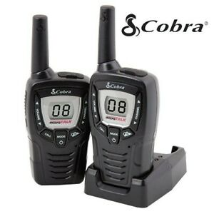 Cobra CXT395 2- 23 Mile Range 22 Channel 2 Way Walkie Talkie Radios