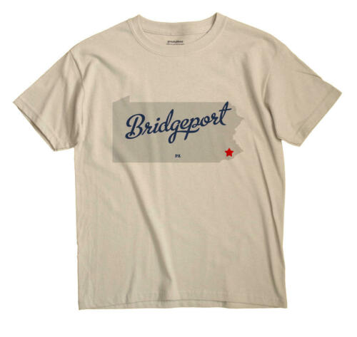 Bridgeport Pennsylvania PA Penn T-Shirt MAP